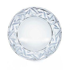 TIFFANY & CO. Rock Crystal Decorative Plate